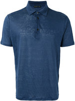 Etro classic polo shirt - men - Linen/Flax - XL
