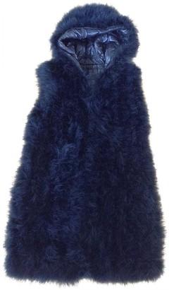 Liviana Conti Black Fur Jacket for Women