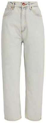 Sandro Paris Light-Wash Mom Jeans