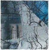 Faliero Sarti tree print scarf