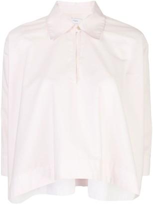 Rosetta Getty Cropped Caftan Shirt