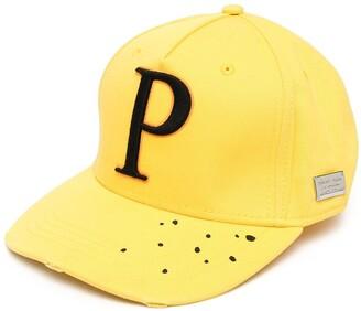 Philipp Plein Embroidered-Logo Baseball Cap