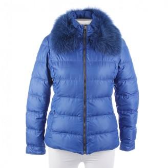 Versace Blue Coat for Women