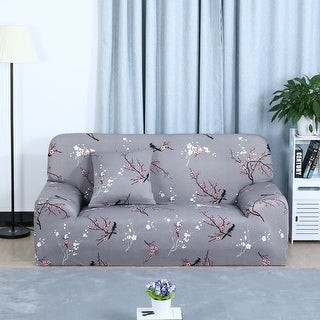 Unique Bargains Home Decor 1/2/3/4 Seats Stretch Cover Sofa Cover Loveseat Slipcovers