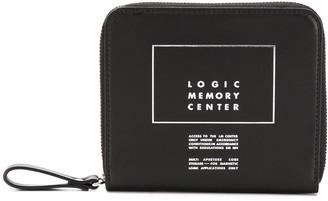 Undercover slogan zipped wallet