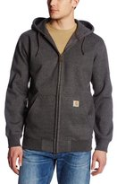 Carhartt Men's Tall Rain Defender Paxton Heavyweight Hooded Zip Front Sweatshirt