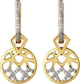 Links of London Timeless Gold 18ct yellow-gold and diamond earrings