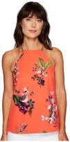 Ted Baker Sallyy Tropical Oasis Halterneck Top Women's Sleeveless