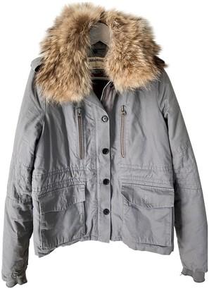 Zadig & Voltaire Grey Cotton Jacket for Women