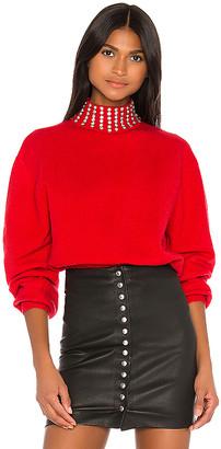 GRLFRND Katherine Embellished Sweater
