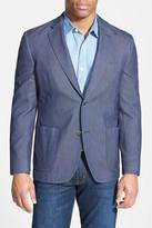 Kroon Classic Fit Woven Cotton Sport Coat