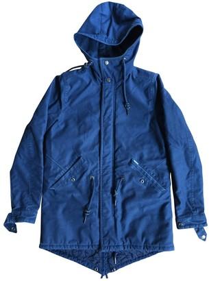 Carhartt Blue Cotton Coat for Women
