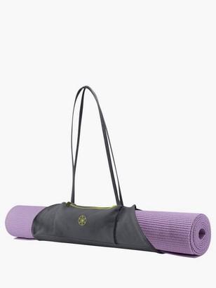 Gaiam On-The-Go Yoga Mat Carrier, Grey/Citron