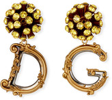 Dolce & Gabbana Sunflower Drop Earrings