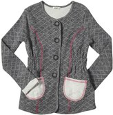 LAmade Kids Quilted Coat (Toddler/Kid) - Heather Capri-6x