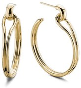 Shinola Women's Small Lug Hoop Earrings