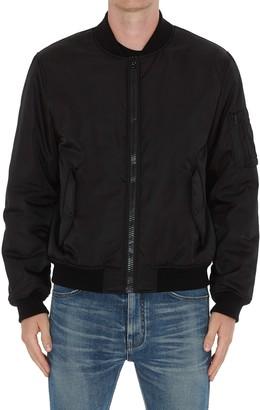 Moschino Back Logo Bomber Jacket
