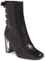 Karen Millen Women's Eyelet Leather Booties