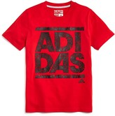 adidas Boy's Climalite Crackle Graphic Tee - Sizes S-XL