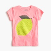 J.Crew Girls' sequin lemon T-shirt