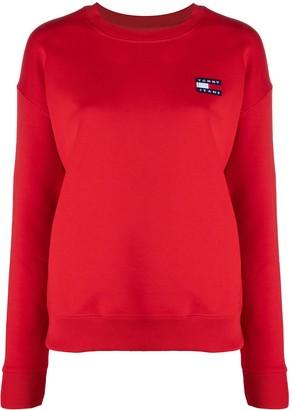 Tommy Jeans Logo-Patch Sweatshirt
