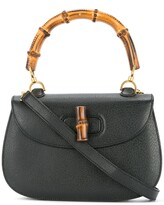 Gucci Pre Owned Bamboo Line 2-way handbag
