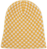The Elder Statesman Women's Cashmere Checked Beanie