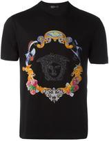Versace Medusa sketch embroidered T-shirt - men - Cotton - XL