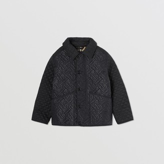 Burberry Monogram Quilted Panel Recycled Polyester Jacket