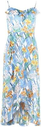 Kensie Floral Print Burnout Dress