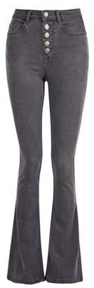 Dorothy Perkins Womens Charcoal 5 Buttons 'Shape & Lift' Jeans