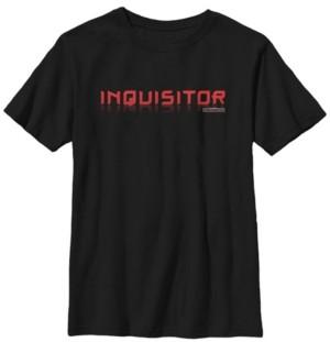 Star Wars Big Boys Jedi Fallen Order inquisitor Short Sleeve T-Shirt