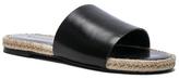 Haider Ackermann Leather Sandals in Black.