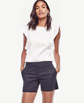 Ann Taylor Cotton Mid Shorts