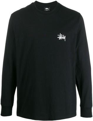 Stussy Rear Printed Logo Sweatshirt