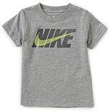 Nike Little Boys 2T-7 Futura Swoosh Short-Sleeve Tee