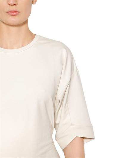 Puma Select T-Shirt With Back Lace Up Detail