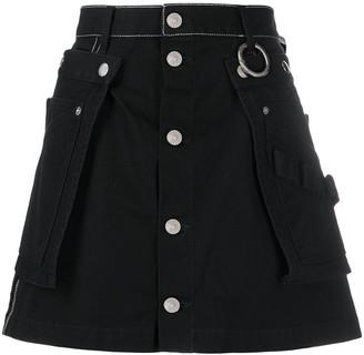 Diesel Utility Belt Flared Skirt
