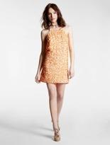 Halston Sequined Cami Dress