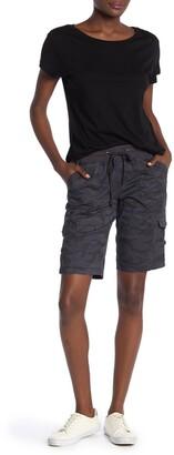 SUPPLIES BY UNION BAY Betsey Camo Bermuda Shorts