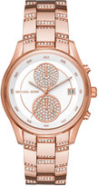 MICHAEL Michael Kors 40mm Briar Oversized Pavé Crystal Chronograph Watch