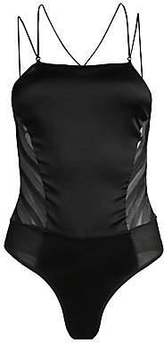 Kiki de Montparnasse Women's Silky Lace-Up Bodysuit