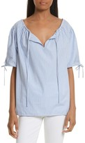 Tory Burch Women's Ariana Stripe Top