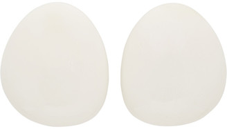 Monies Jewellery White Lima Earrings