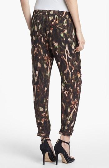 Haute Hippie 'Keith' Draped Silk Pants