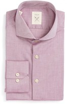 Men's Strong Suit 'Espirit' Trim Fit Herringbone Dress Shirt