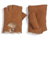 UGG McKay Genuine Shearling Fingerless Driving Gloves