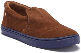 Toms Paxton Suede Slip-On Sneaker (Little Kid & Big Kid)
