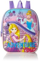 Disney Girls' Princess 10 Mini Backpack with Front Pocket