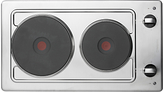Hotpoint E320SKIX Electric Hob, Stainless Steel